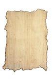 bränd kanfas isolerad white Arkivbilder
