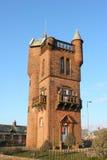 bränner det minnes- nationella tornet Royaltyfria Foton
