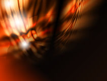 brännhet abstraktionbakgrund vektor illustrationer