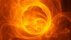 Brännhet virvel Arkivfoto