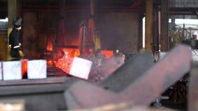 Brännheta stålkvarter för överföring arkivfilmer