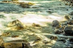 Bränning av Atlanticet Ocean Royaltyfri Foto