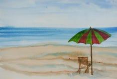 bränning för sommar för stenar för strandkustcyprus medelhavs- sand Arkivfoto