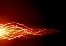 brännskadabrandflamma Royaltyfri Foto
