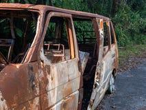 Brännskadaskåpbil Arkivbilder