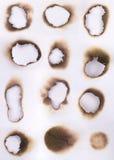 brännskador Arkivbilder