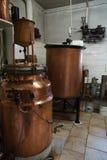 Brännvinspritfabrik Arkivfoton