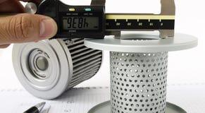 Bränslefilter för omvänd teknik royaltyfri foto