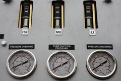 bränslegauges Arkivfoto
