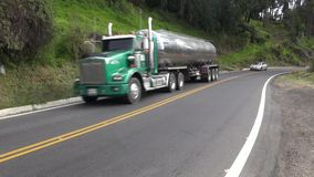 Bränslelastbilar, bensin, Jet Fuel, diesel lager videofilmer