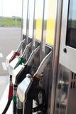 bränslestation royaltyfria foton