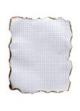 bränt papper royaltyfri foto
