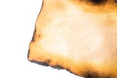 bränt papper Royaltyfri Fotografi