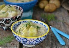 Bräserad zucchini Royaltyfri Bild