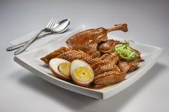 Bräserade Duck Meat arkivbild