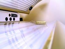 Bräunendes Bett Stockbilder