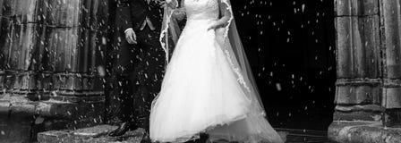 Bräutigam an der Hochzeit Lizenzfreie Stockbilder
