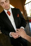 Bräutigam: Ich tue! lizenzfreies stockbild