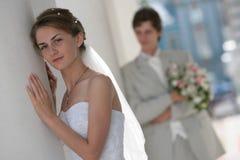 Bräutigam und Braut Lizenzfreies Stockbild
