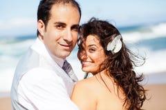 Bräutigam und Braut Lizenzfreie Stockfotos