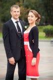 Bräutigam und Schwester Lizenzfreies Stockbild