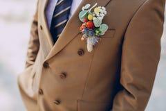 Bräutigam Wedding Suit Stockbilder