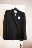 Bräutigam Wedding Suit Jacket Lizenzfreie Stockbilder