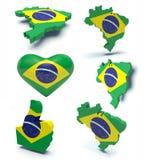 Brésil  Photo libre de droits