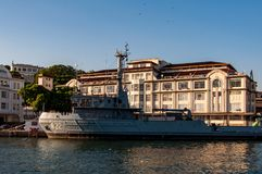 Brésilien Marine Navy Warship photos libres de droits
