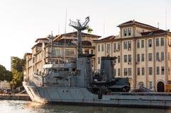 Brésilien Marine Navy Warship images stock