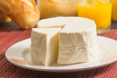 Brésilien Minas Cheese photo libre de droits