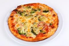 Brócolis da pizza Imagens de Stock Royalty Free
