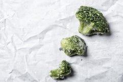 Brócolis de Fronzen Fotografia de Stock