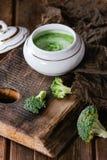 Brócolis triturados com aioli Imagem de Stock Royalty Free