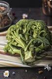 Brócolos crus Foto de Stock