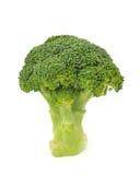 Bróculi aislado Imágenes de archivo libres de regalías
