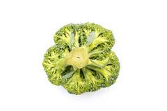 Bróculi Bróculi aislado en el fondo blanco fotografía de archivo libre de regalías