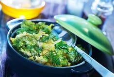 Bróculi cocido Fotografía de archivo libre de regalías