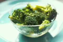 Bróculi cocinado Imagen de archivo libre de regalías