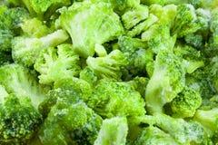 Bróculi congelado Imagen de archivo libre de regalías