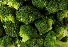 Bróculi de la col Imagen de archivo libre de regalías