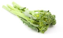 Bróculi del bebé de Broccolini aislado imágenes de archivo libres de regalías