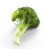 Bróculi en un fondo blanco Imagenes de archivo