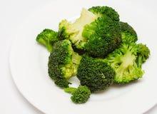 Bróculi hervido Imagen de archivo