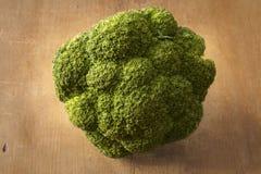 Bróculi orgánico imagen de archivo