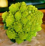 Bróculi Romanesco fotos de archivo
