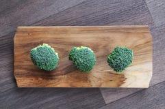 Bróculi, tajadera Fotografía de archivo libre de regalías