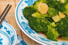 Bróculi verde nutritivo Imágenes de archivo libres de regalías
