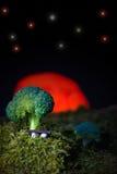 Bróculos abstratos Imagens de Stock Royalty Free