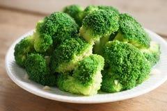 Bróculos cozinhados Imagens de Stock